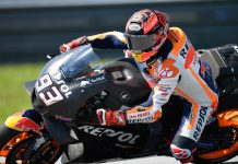 Marc Marquez Winter Test Sepang MotoGP