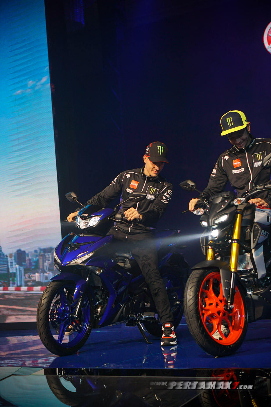 Maverick Vinales Launching Yamaha New MX King di Indonesia