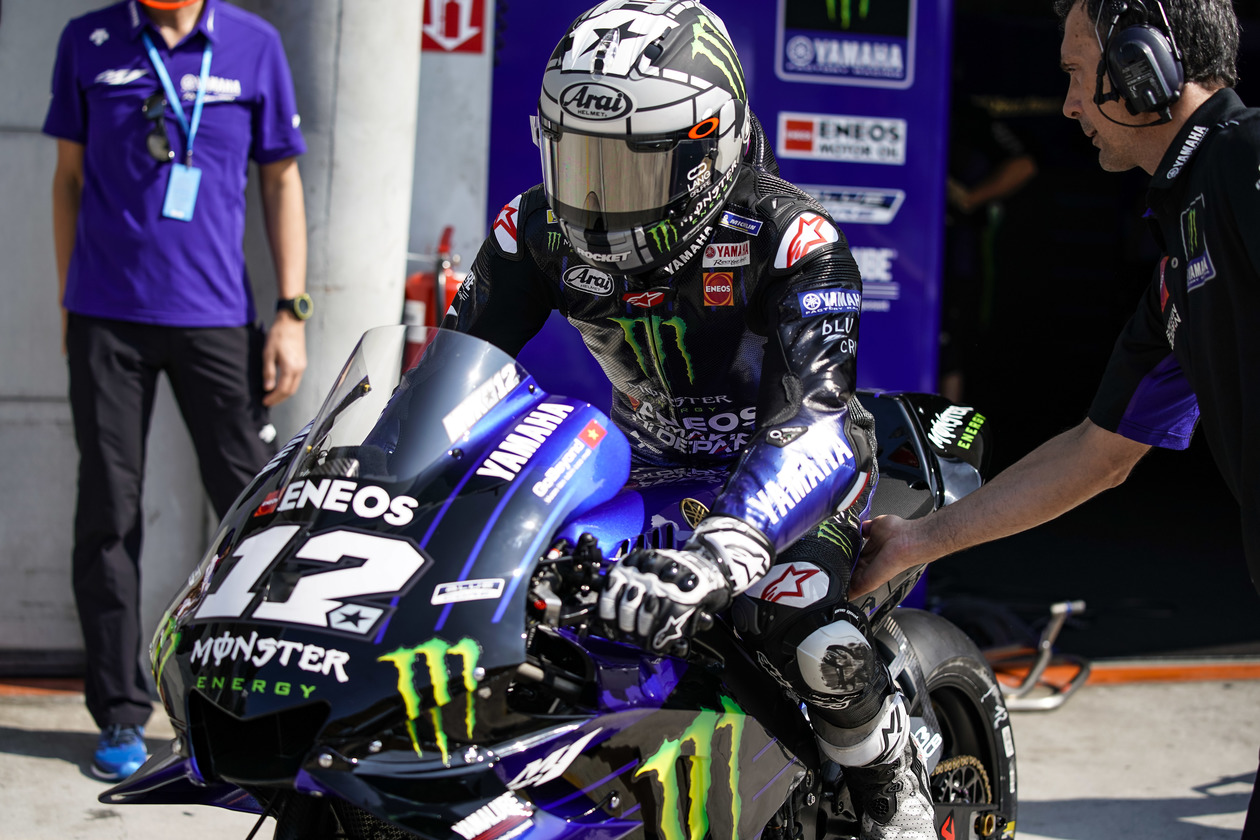 Maverick Vinales Monster Energy IRTA 2019 Day 2