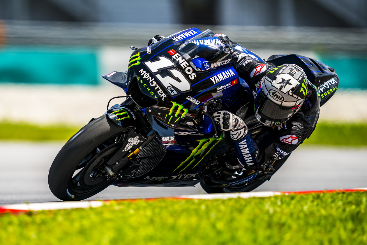 Maverick Vinales Tercepat Winter Test MotoGP Sepang Day 2