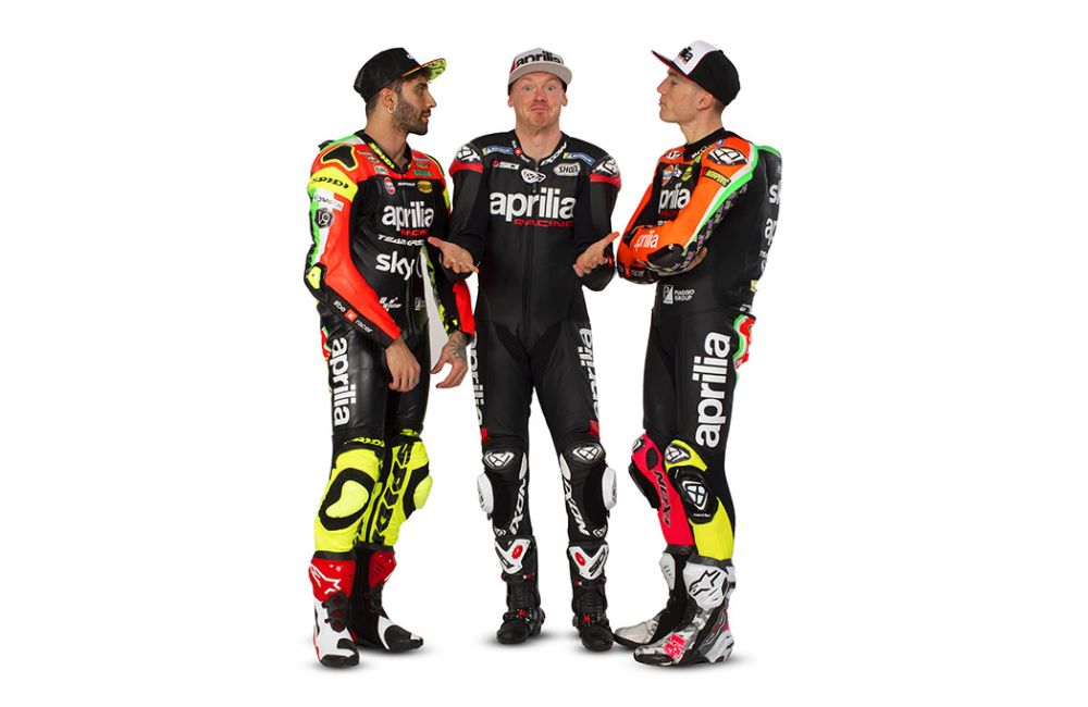Pebalap Aprilia racing Team MotoGP 2019