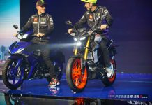 Valentino Rossi Launching Yamaha MT15