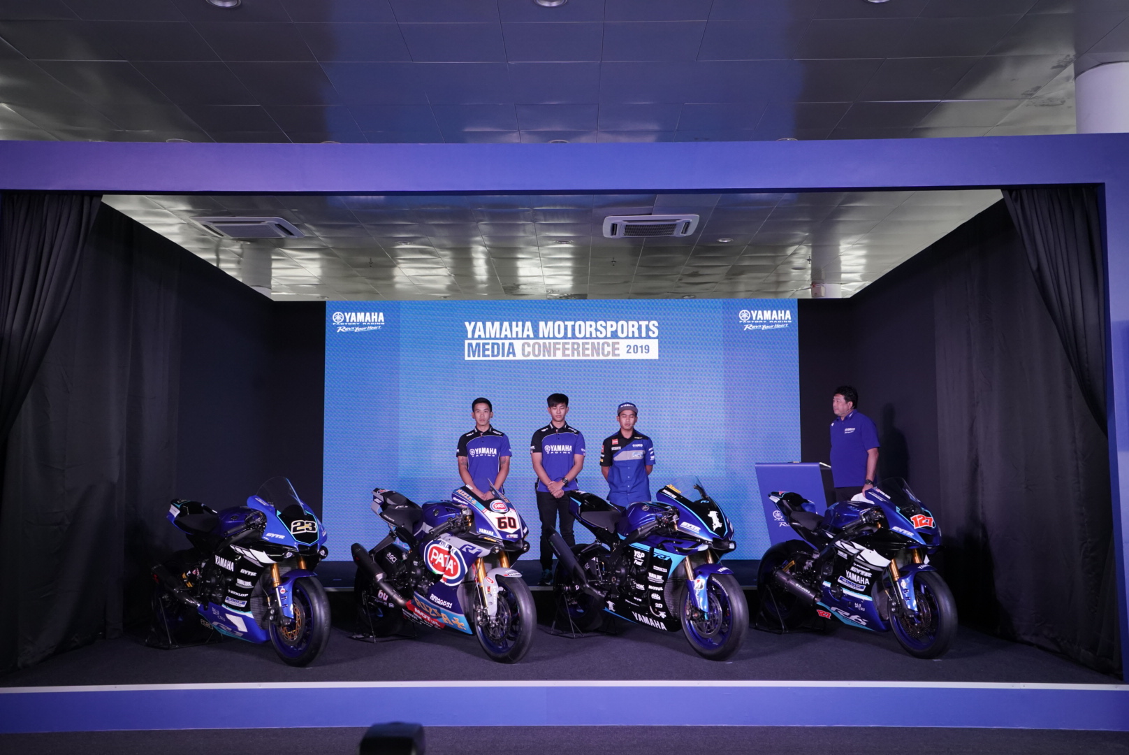 YAMAHA MOTORSPORT MEDIA CONFERENCE 2019