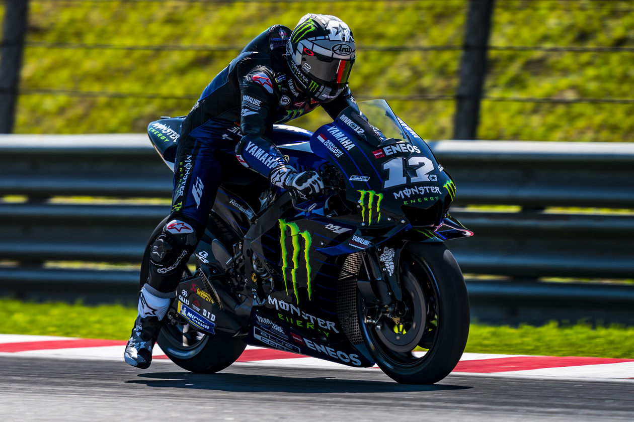 Yamaha M1 Monster Energy IRTA Winter Test 12