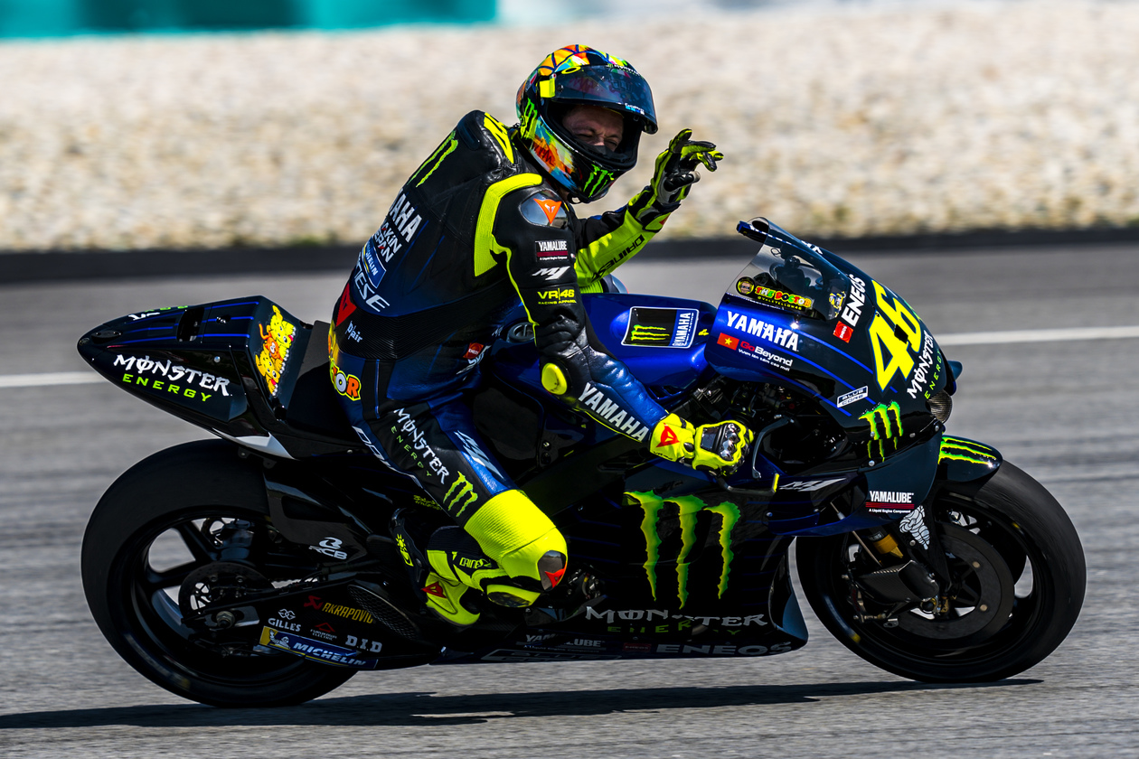 Yamaha M1 Monster Energy Rossi Winter Test 10 P7