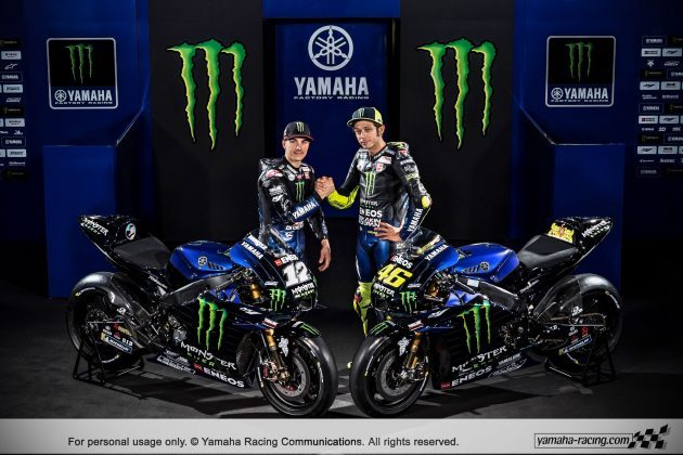 Yamaha M1 MotoGP 2019 Monster Energy 36 P7