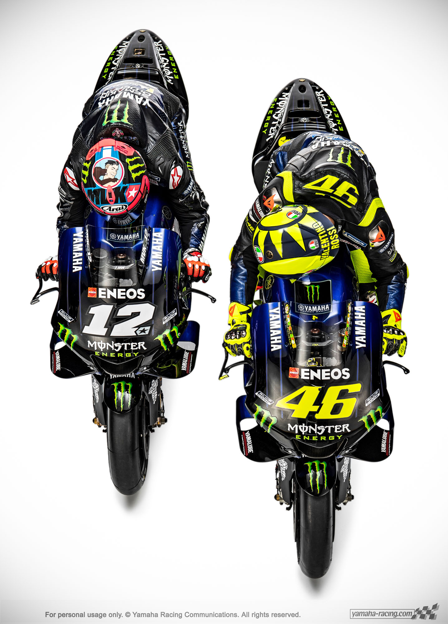 Wallpaper Yamaha M1 MotoGP 2019 Monster Energy Pertamax7
