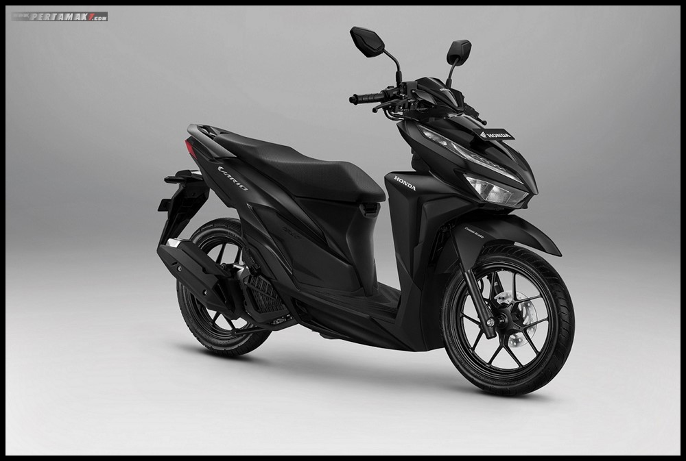 2019 Honda Vario 125 Advance Matte Black terbaru