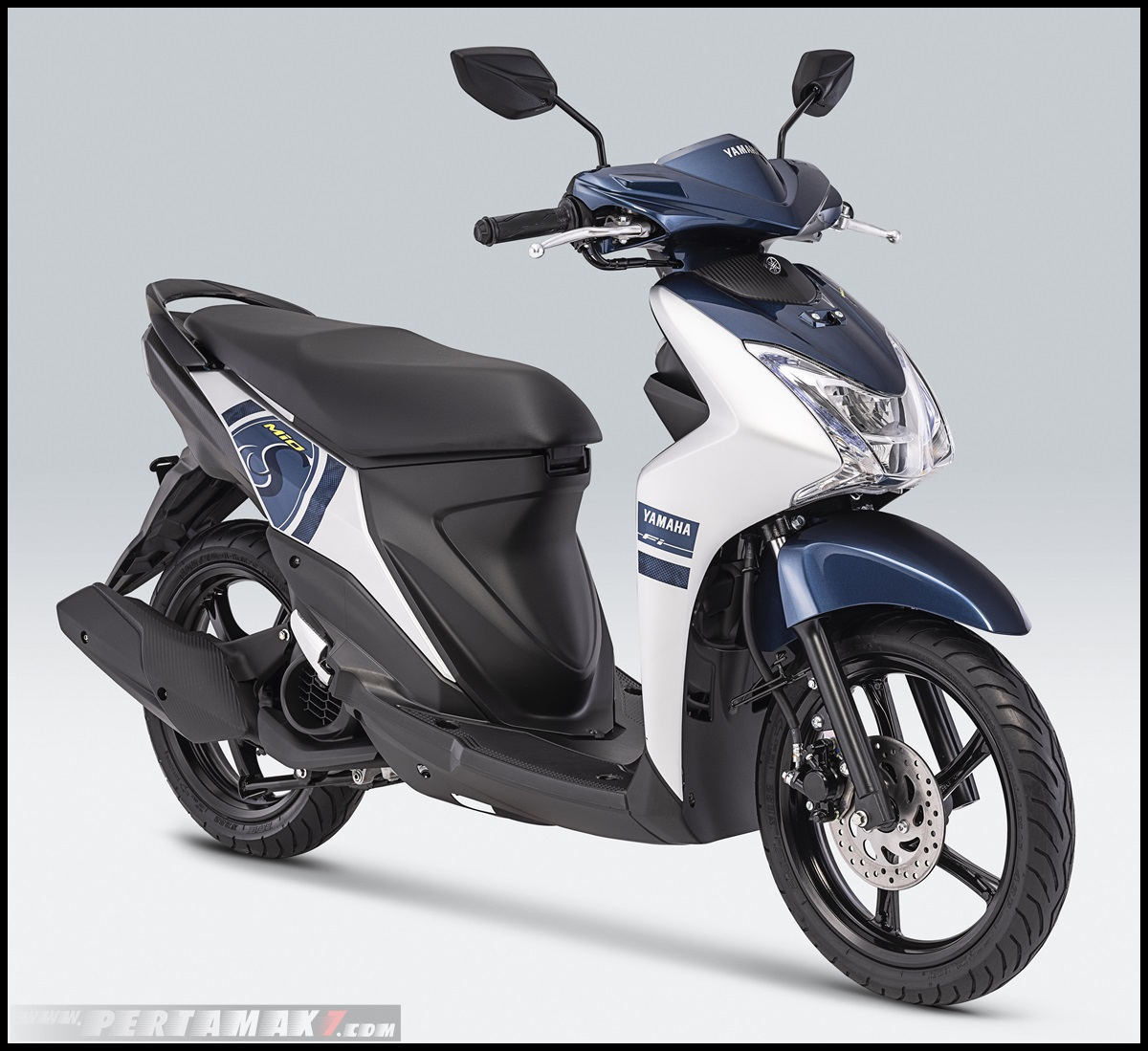 2019 Yamaha Mio S Warna Marvelous Blue