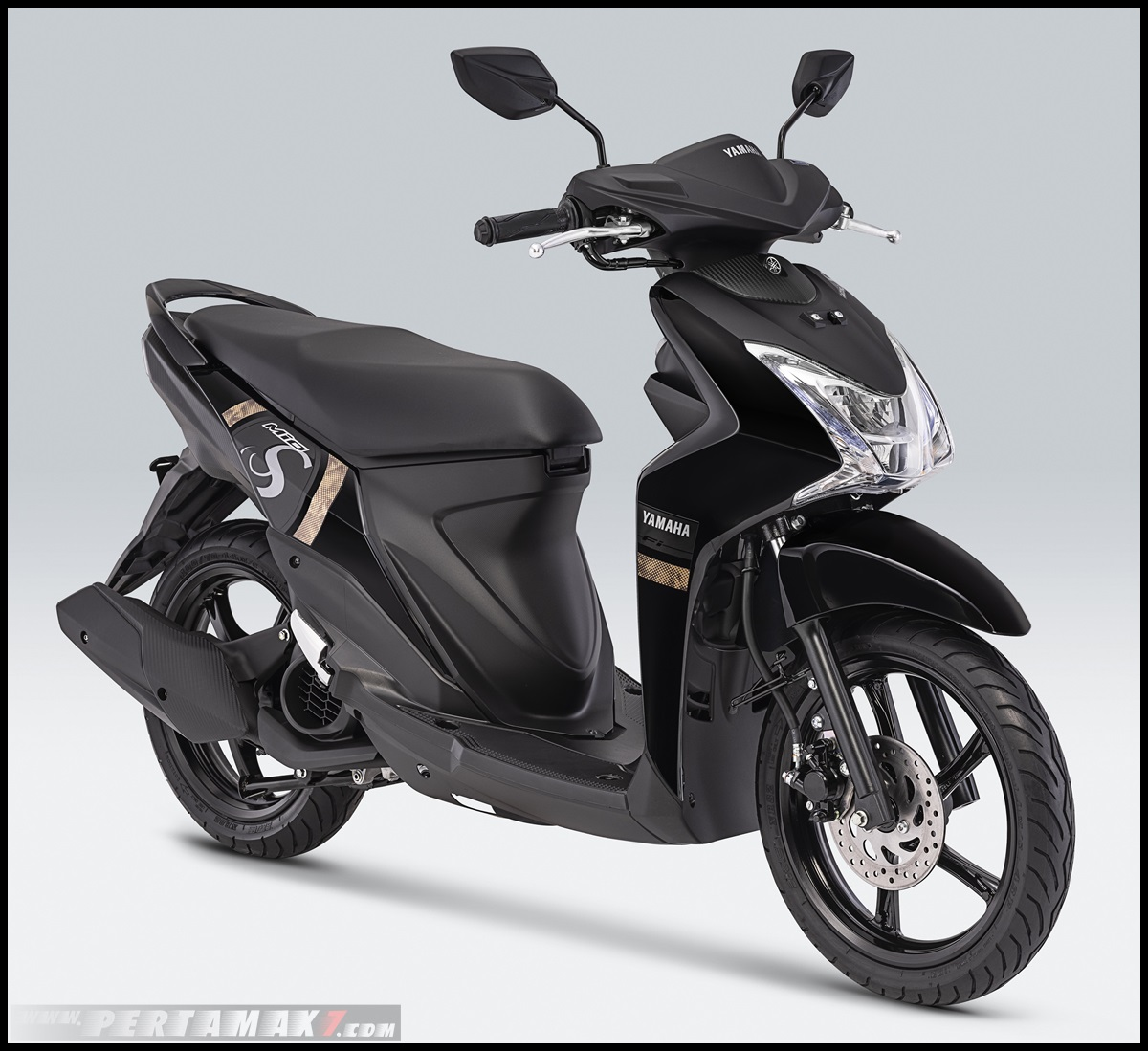 2019 Yamaha Mio S Warna Mighty Black
