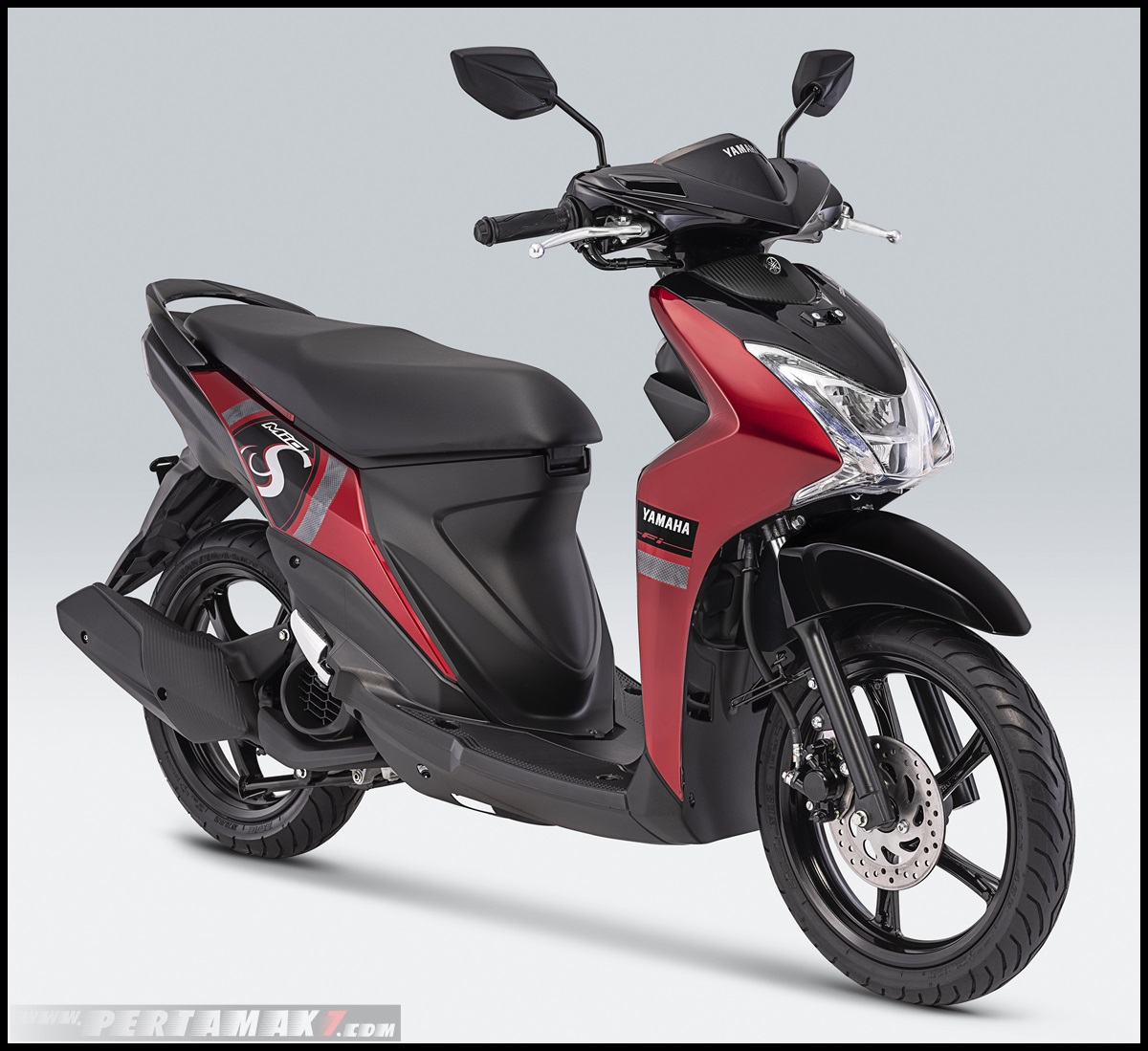 2019 Yamaha Mio S Warna Mysterious Red