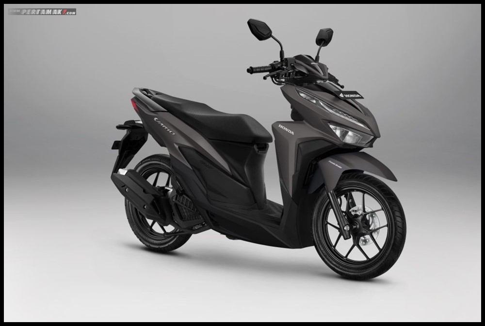 AHM_Honda Vario 125 Advance Matte Brown terbaru