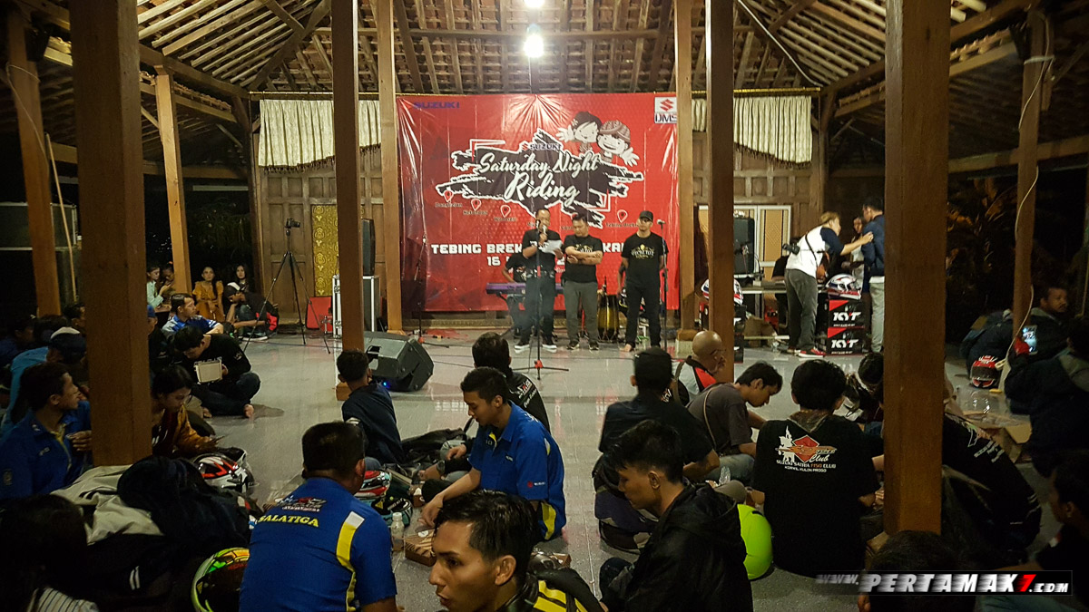 Acara Suzuki Night Riding Jogja