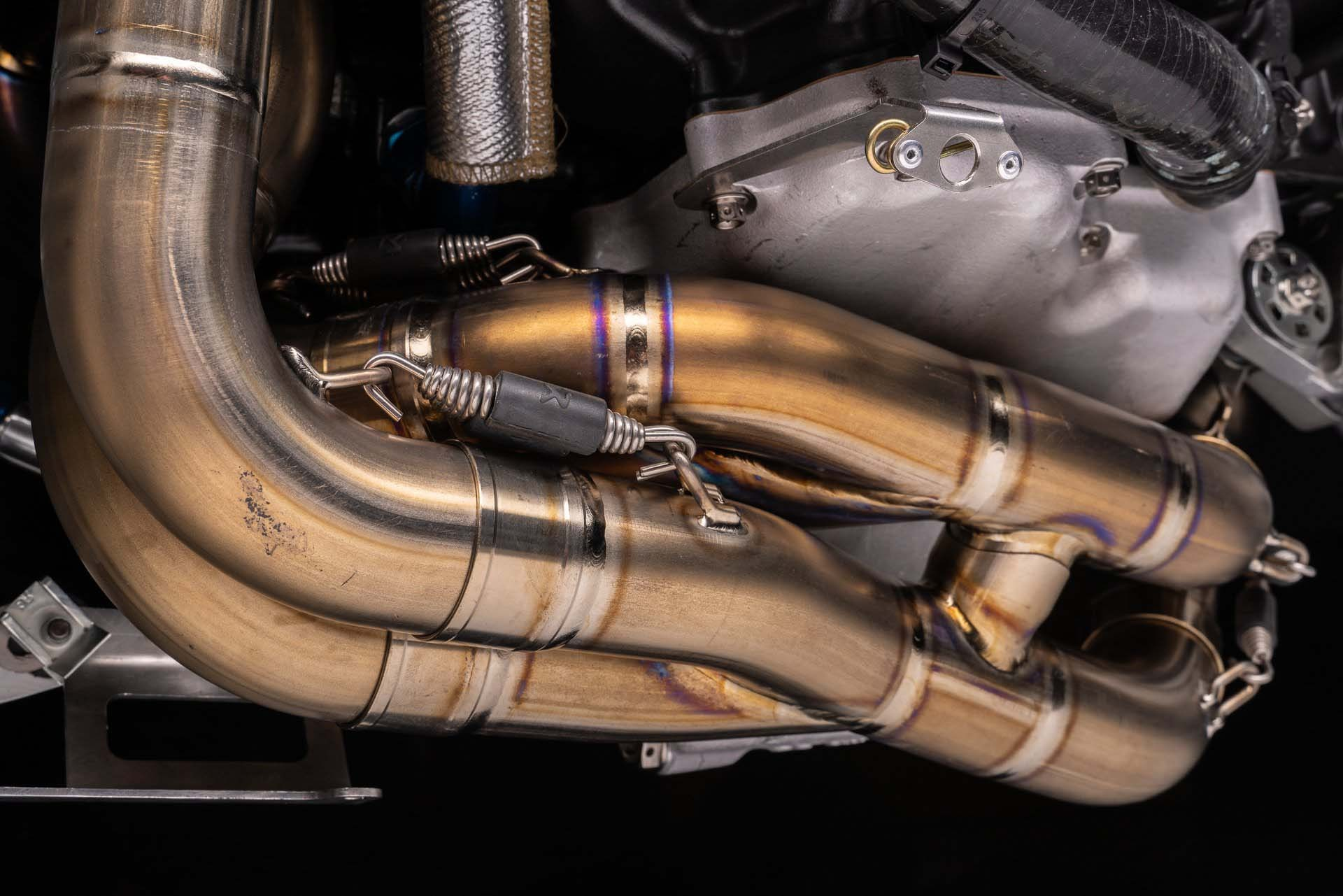 Exhaust Header Akrapovic Honda CBR1000RR SP2 WSBK Nicky Hayden