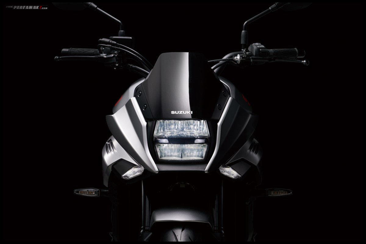 Headlamp ON Suzuki Katana