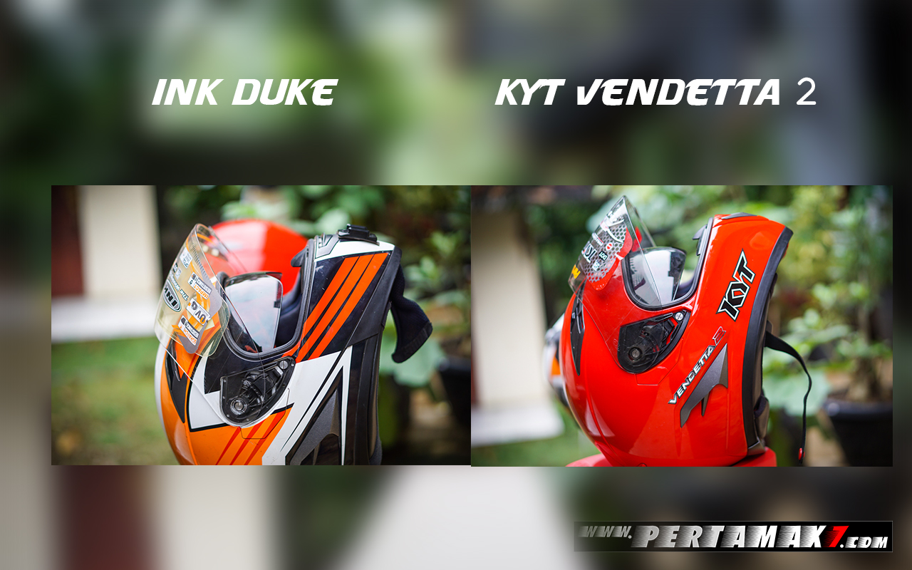Ink Duke Dan Kyt Vendetta 2 Double Visor On