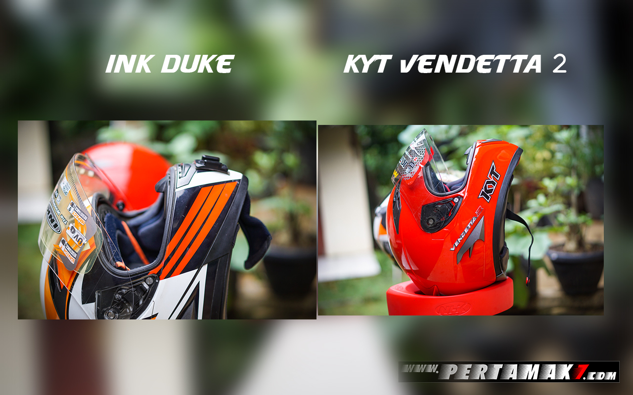 Ink Duke Dan Kyt Vendetta 2 Sun Visor Off
