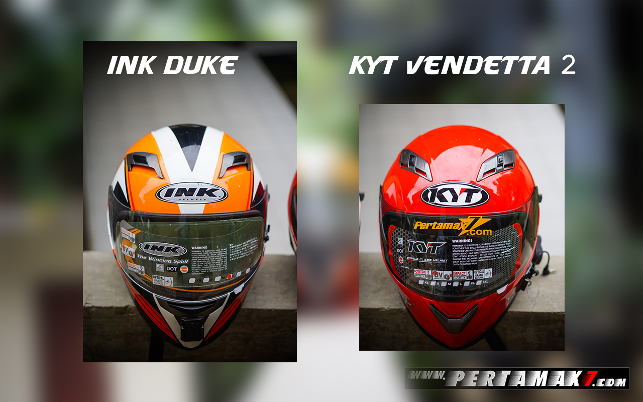 Ink Duke dan Kyt Vendetta 2 Depan