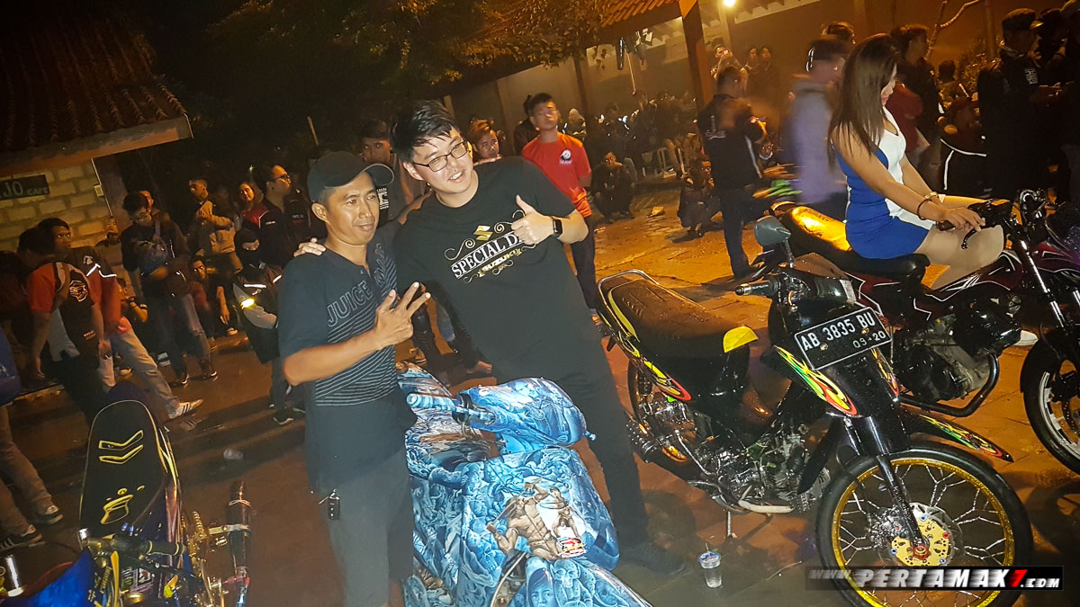 Modifikasi Suzuki Night Riding Jogja