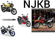 Perbandingan NJKB Suzuki GSX 150 Series VS Trail DR150