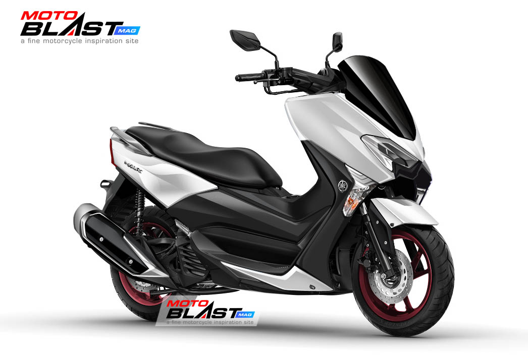 Reka Digital Yamaha NMAX Facelift 2020 White