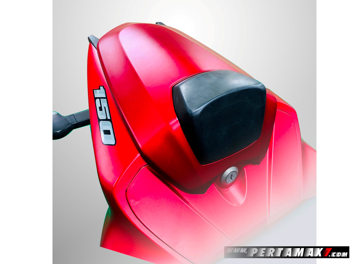 Single Seater Suzuki GSX-R150 Merah Doff