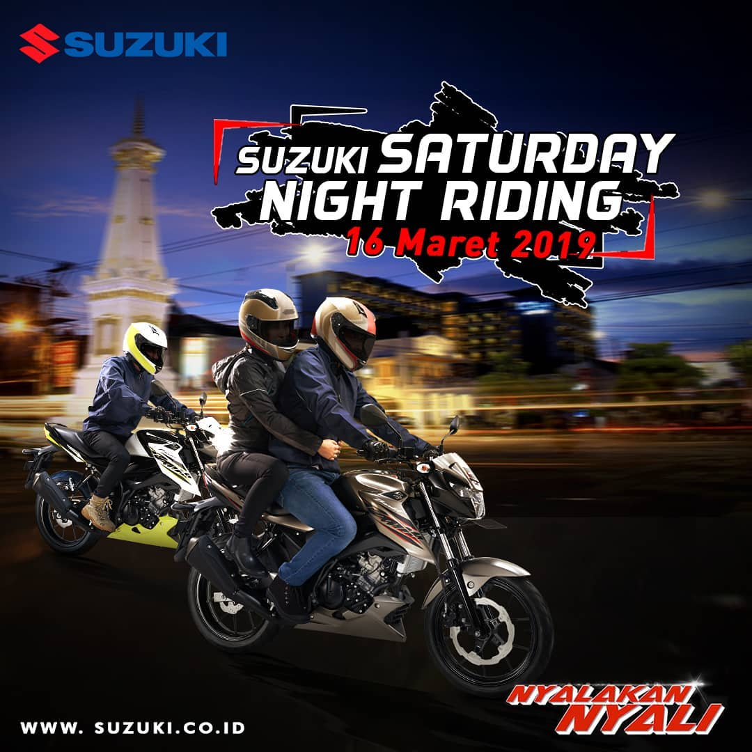 Suzuki Night Riding Jogja