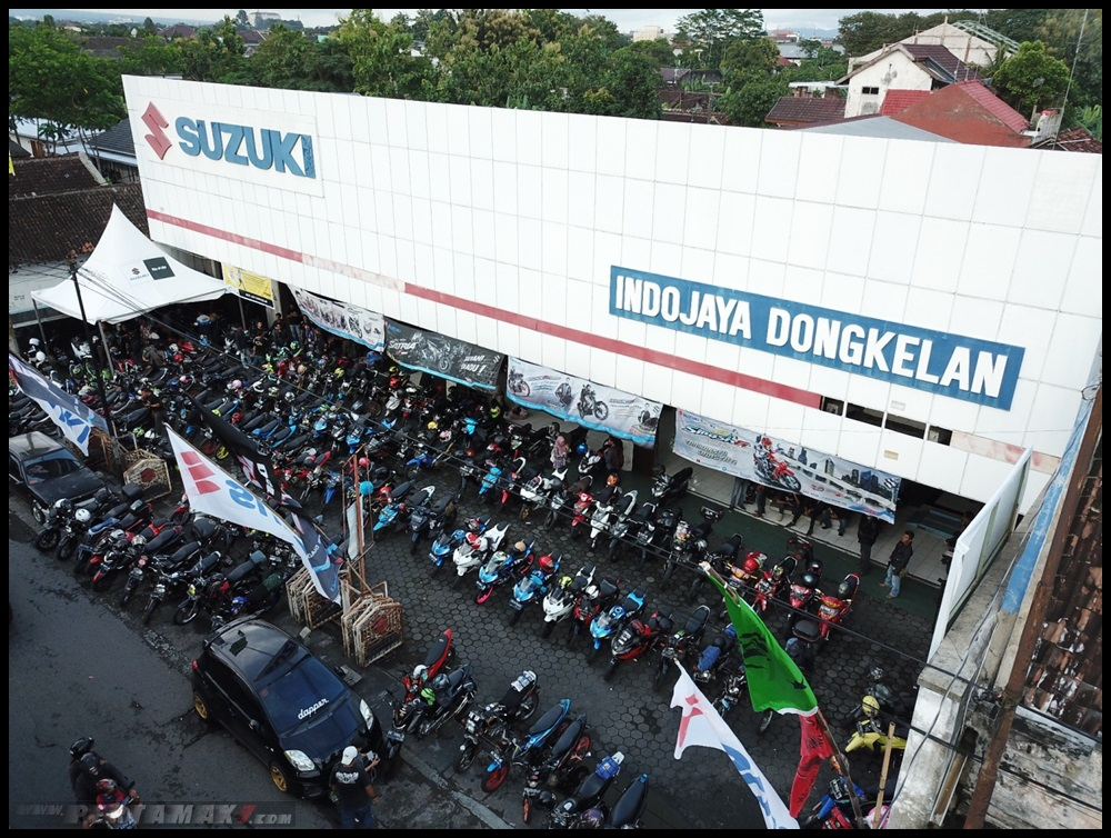 Suzuki Saturday Night Ride Jogja IJMS Dongkelan