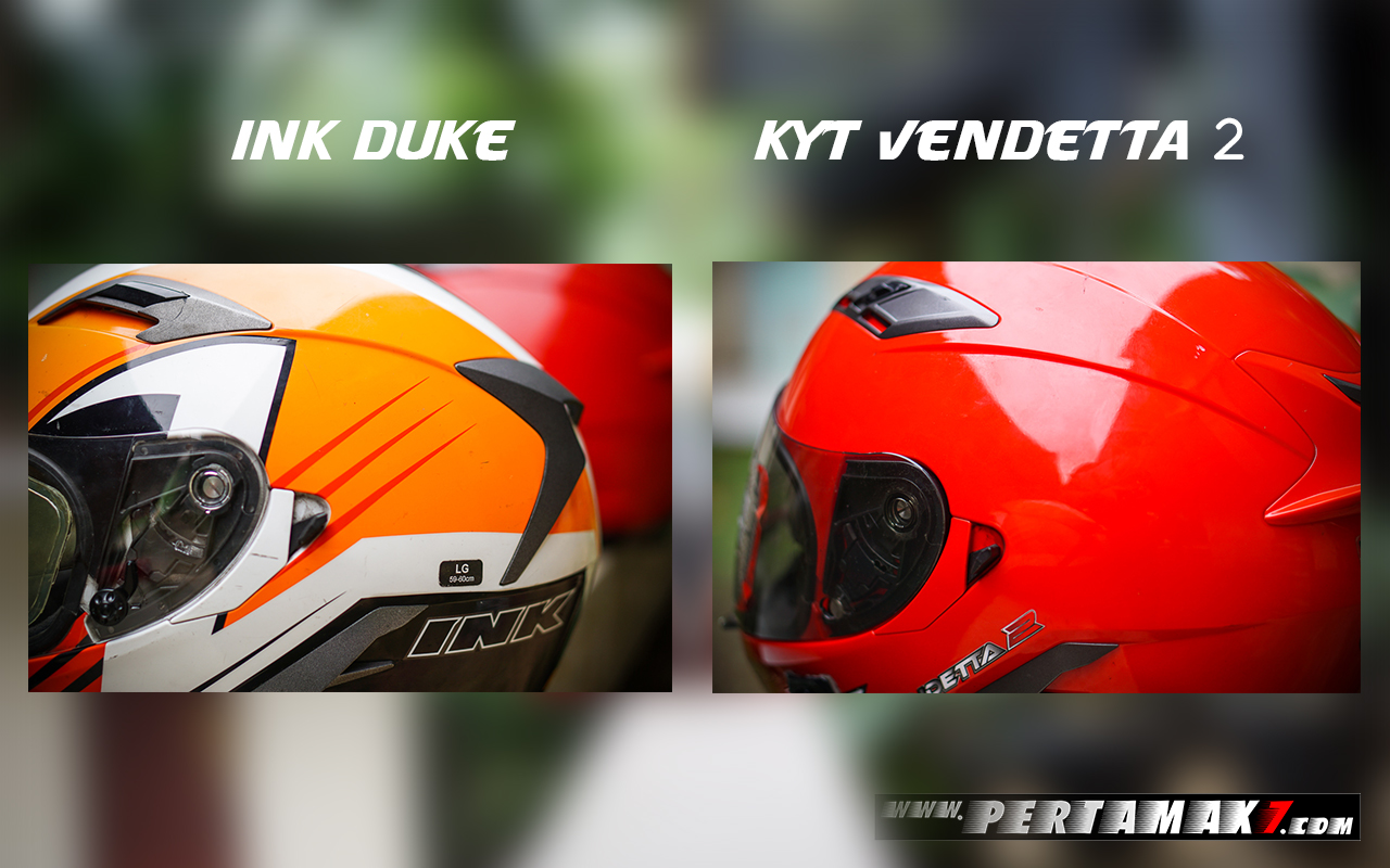 Tuas Double Visor Ink Duke Dan Kyt Vendetta 2