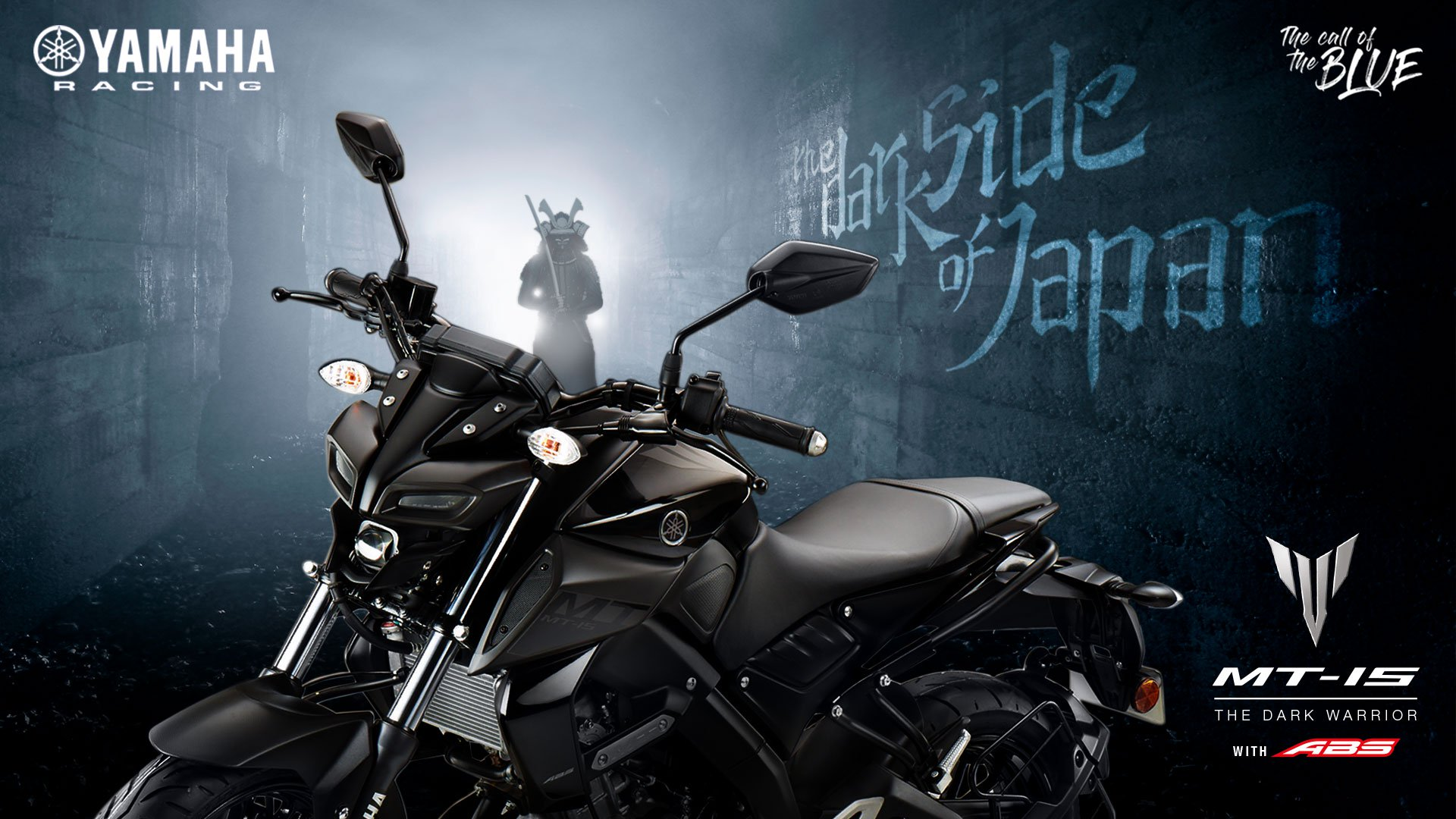 Wallpaper Yamaha MT15 India Hitam