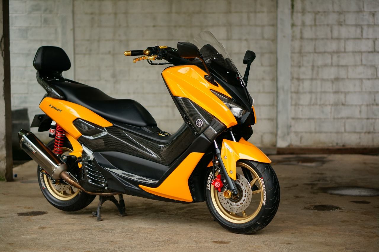 Yamaha NMAX 155 Aerox Ala Lent Automodified