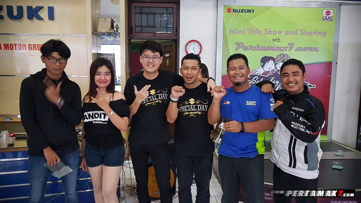 talk show and sharing Suzuki Night Riding Jogja
