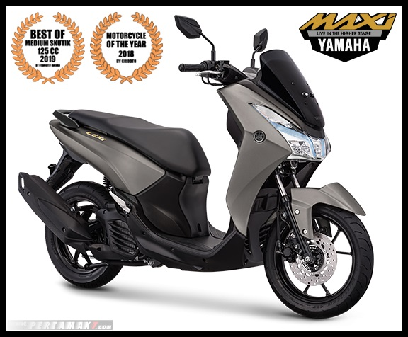 2019 Yamaha LEXI Gold Warna Grey P7