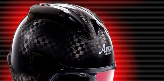 Arai MZ-RC Open face Helmet Racing Carbon