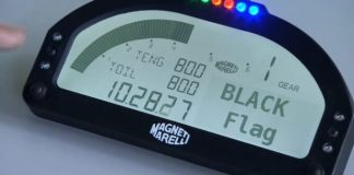 Black Flag Message motogp dashboard communication