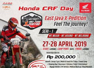 Honda CRF Day Jatim EastJavaXpedition