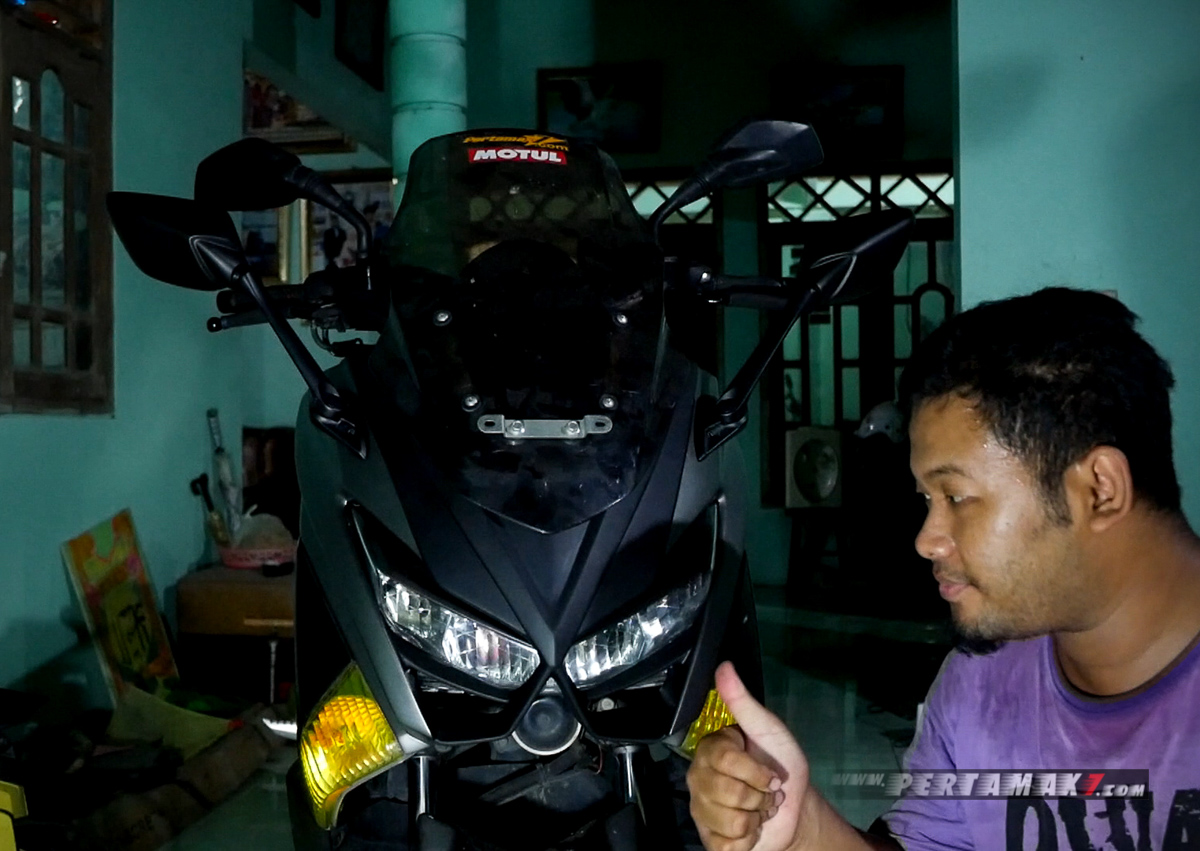 Pasang Body Kit Yamaha NMAX Lent Automodified