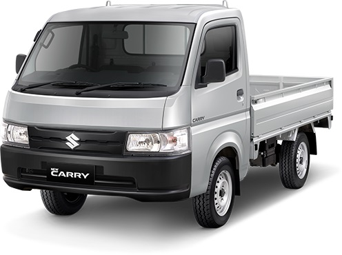 Suzuki New Carry warna abu abu