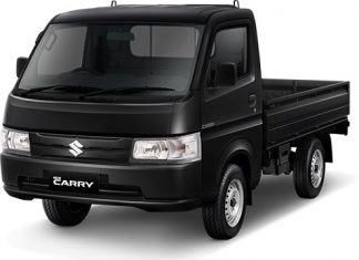 Suzuki New Carry warna hitam