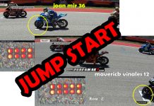 Video Jump Start Maverick Vinales dan Joan Mir MotoGP Amerika 2019
