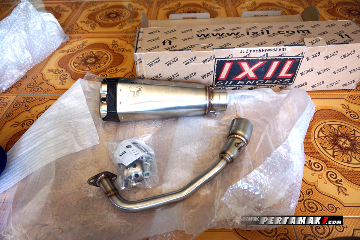 Video Unboxing Knalpot Ixil Yamaha NMAX 155