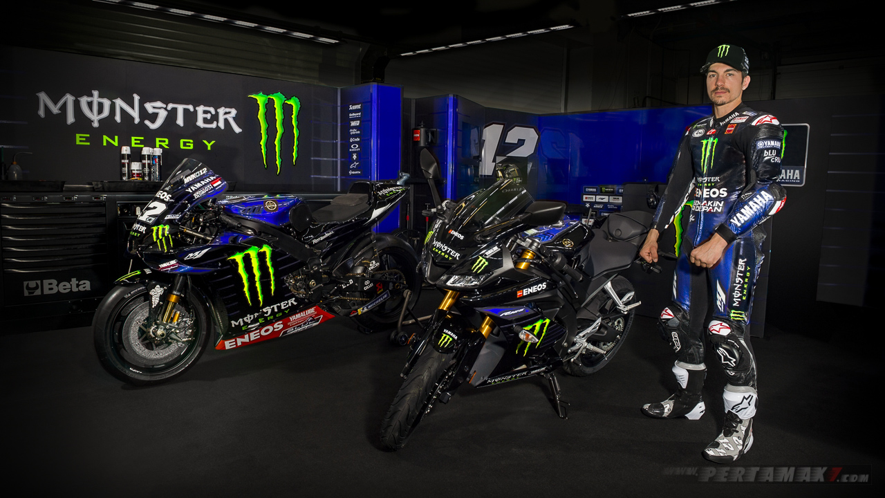 2019 Yamaha R125 Monster Energy MotoGP Vinales_