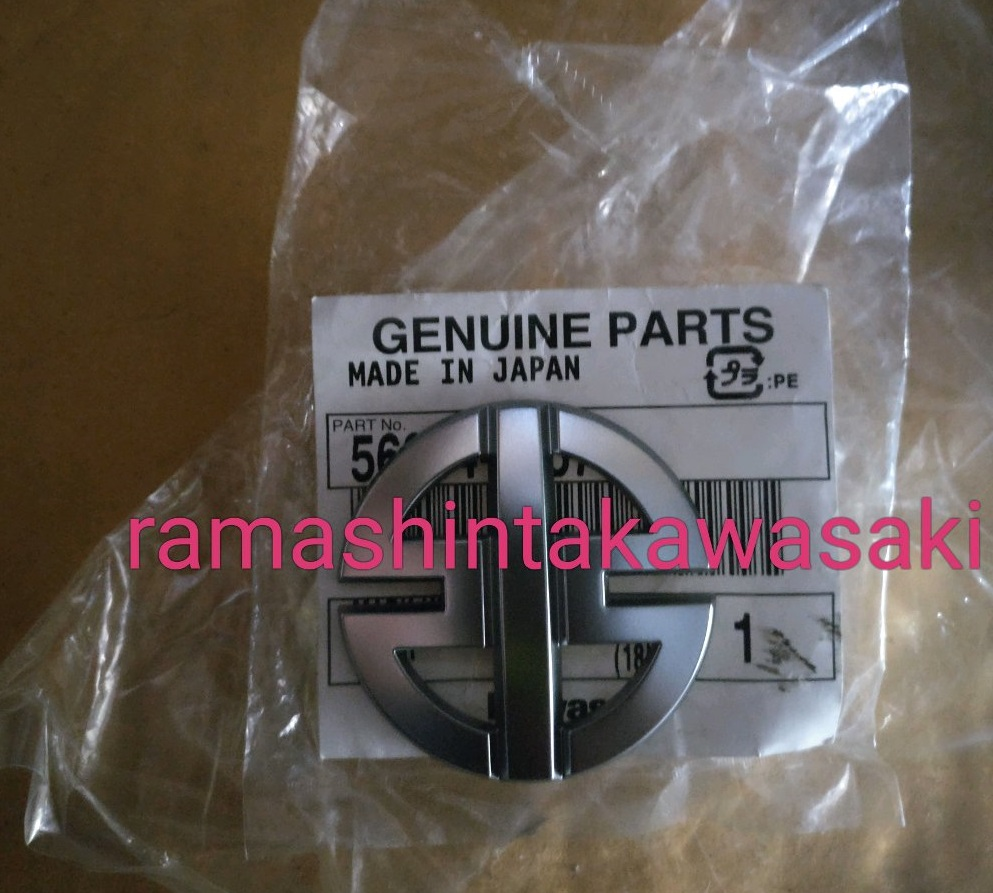 Emblem River Mark Kawasaki H2 Genuine Parts Made In Japan
