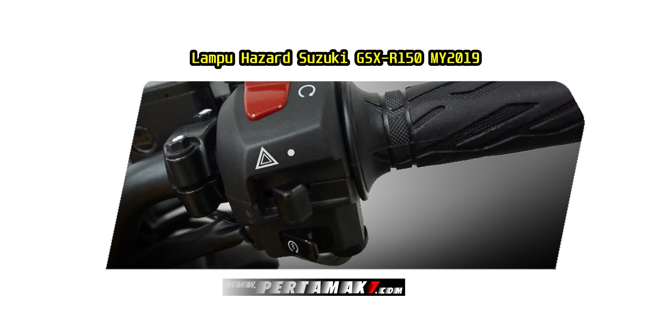 Fitur Suzuki GSX-R150 ABS Hazard Lamp & Easy Start System