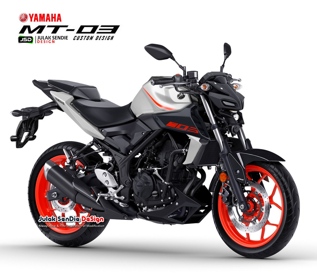 Gambaran Yamaha MT25 Pakai Headlamp MT15 Projector Led