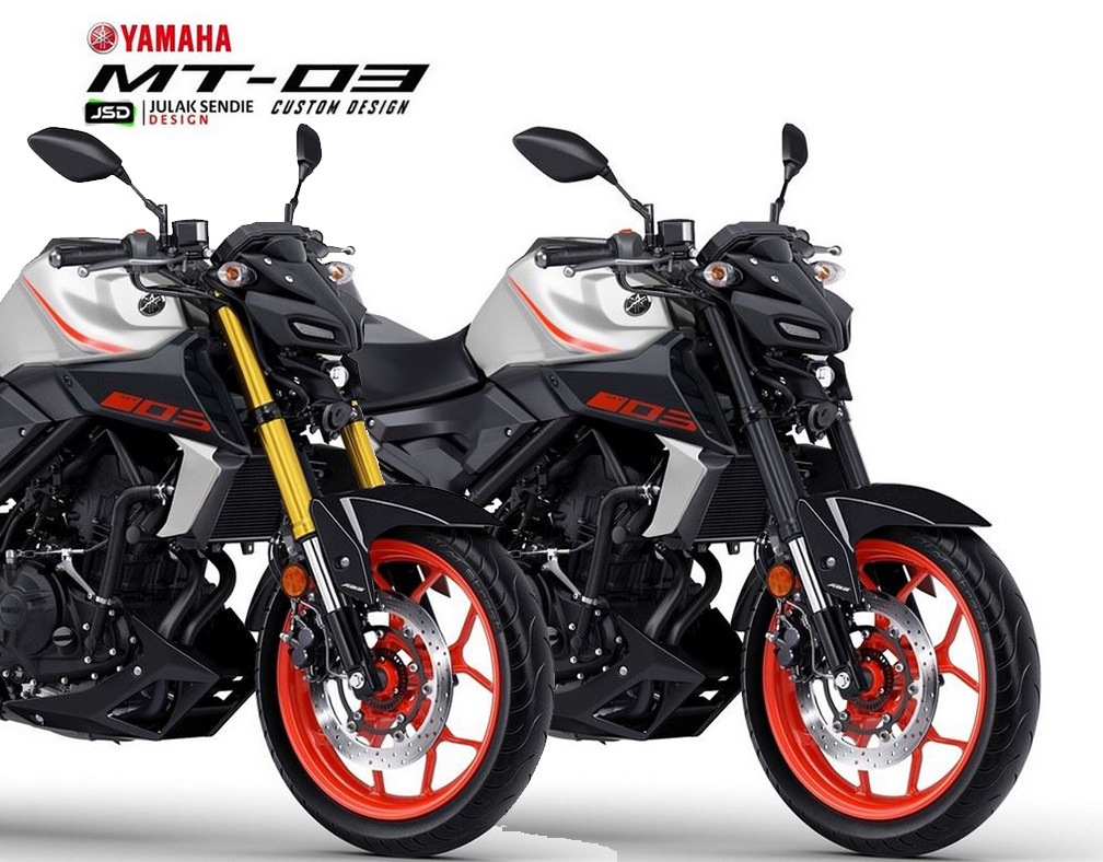 Gambaran Yamaha New MT25 Facelift 2020 kah