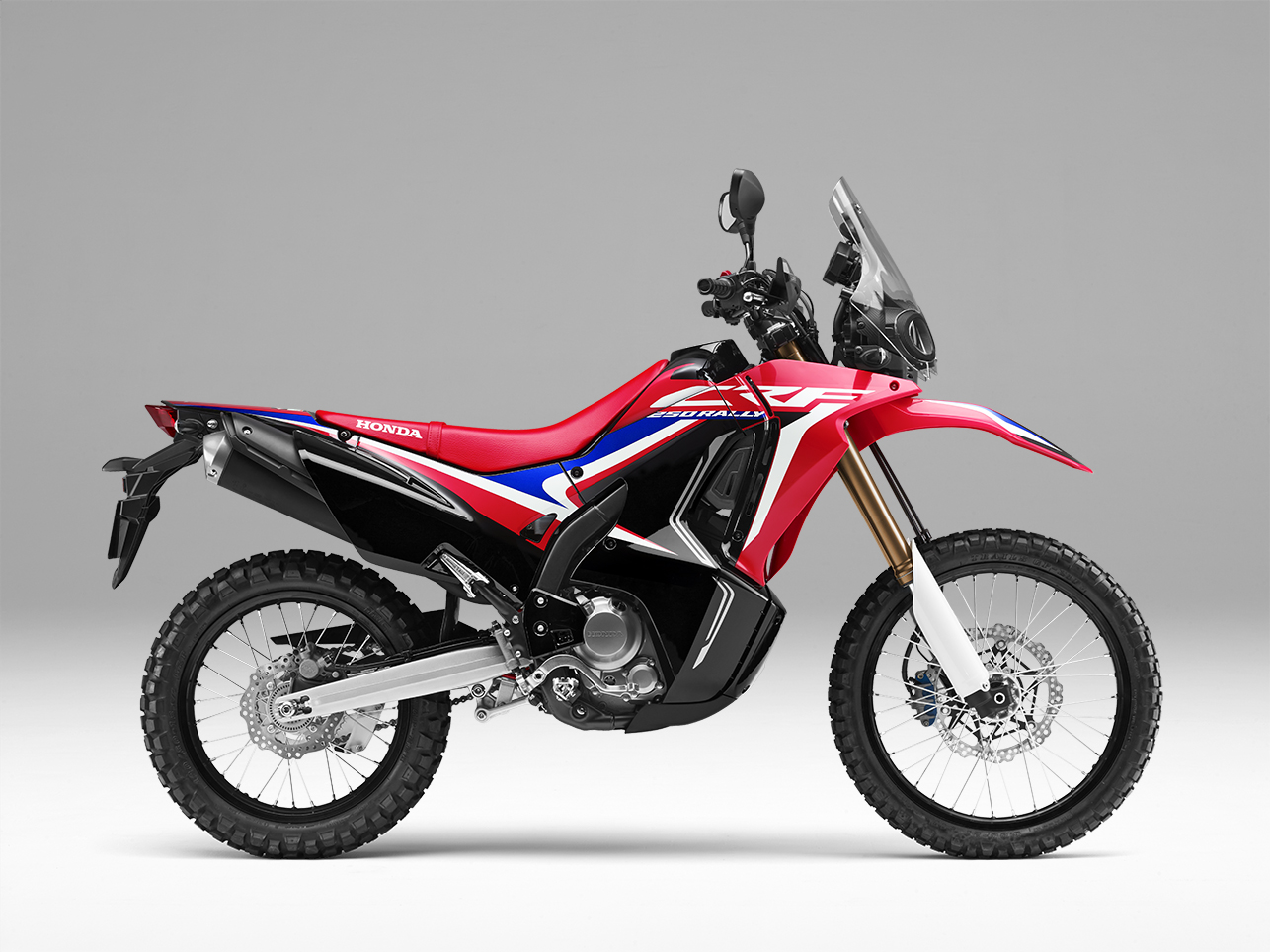 Honda CRF250Rally Extreme Red