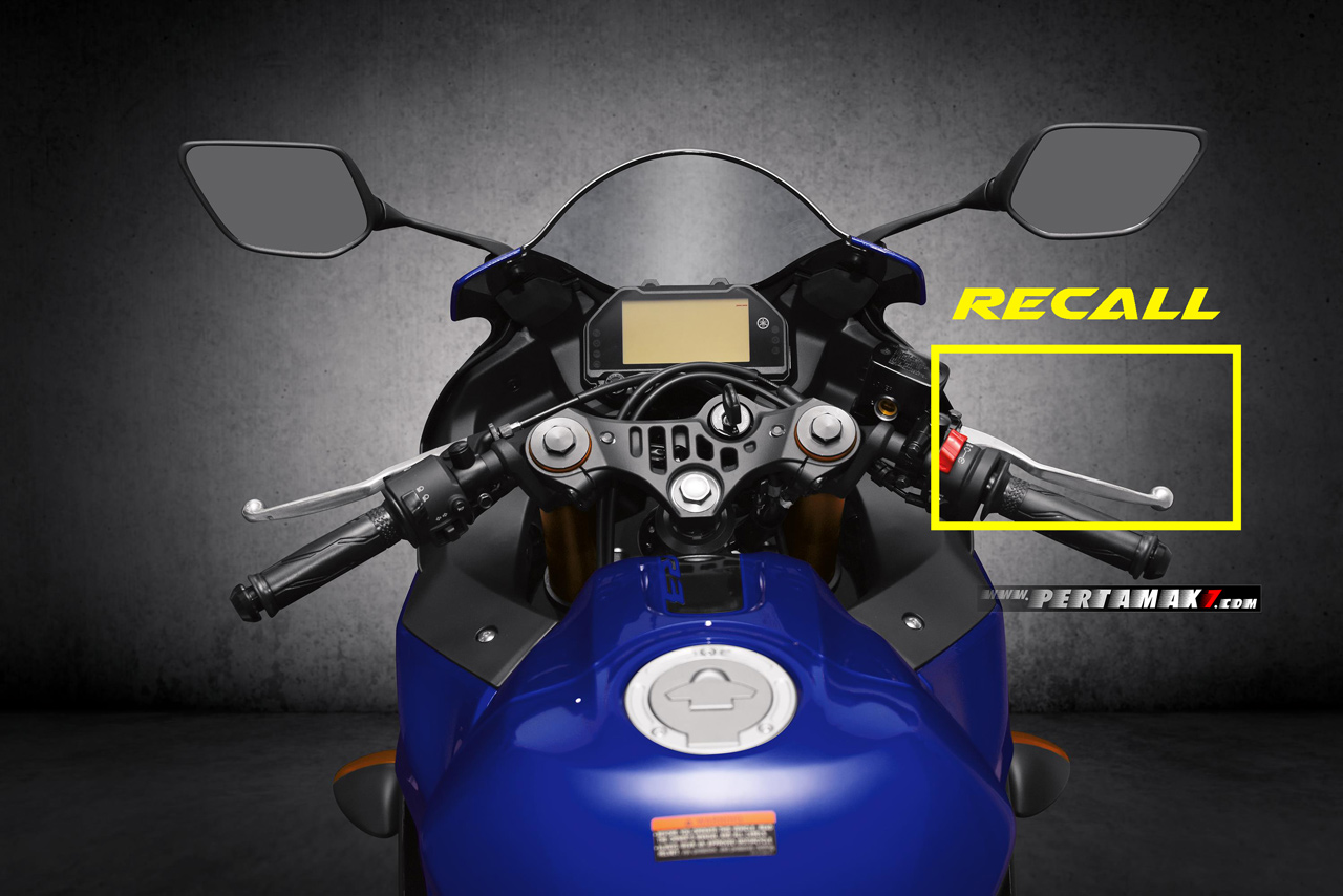 Recall Yamaha New R3 front brake lever