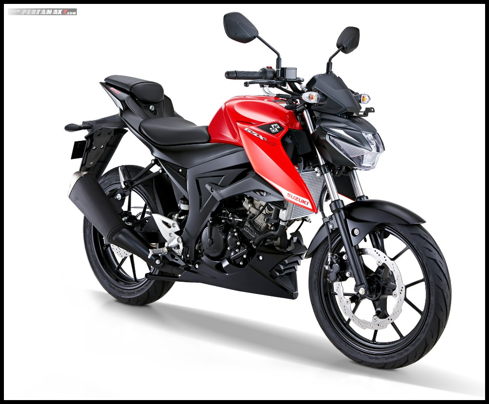 Suzuki GSX-S150 Terbaru 2019 warna Stronger Red