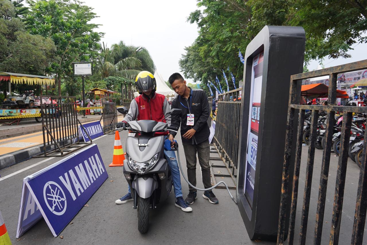 Test Ride FreeGo byms klaten